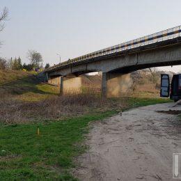 Sondowanie CPT pod przebudowę mostu na rzece Tanew w Uścimowie