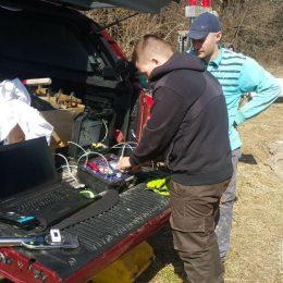 Badanie dylatometrem sejsmicznym SDMT przy ul. Północnej w Lublinie
