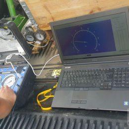 Badanie dylatometryczne DMT w Dąbrowicy