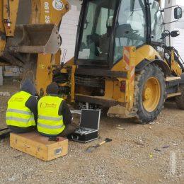 Sprawdzenie nośności podbudowy pod parking na terenie budowy budynku usługowo – handlowego przy ul. Męczenników Majdanka w Lublinie