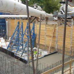 Zbrojenie płyty fundamentowej obiektu przy ul. Lubartowskiej w Lublinie (projekt GeoNep)