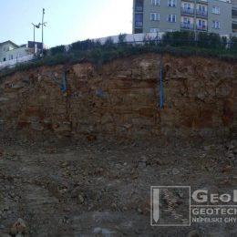 Typowy profil skalny w Lublinie