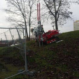 Sondowanie CPT na terenach Politechniki Lubelskiej