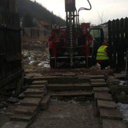 Wykonywanie wierceń w trudno dostępnych miejscach, Kazimierz Dolny