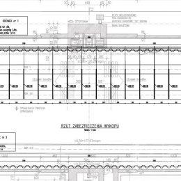 Analiza konstrukcji ścianki szczelnej stanowiącej obudowę wykopy, Dorohusku