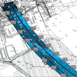 Mapa poziomów wodonośnych na terenie badań w Nałęczowie